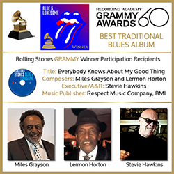 60th GRAMMY Awards Honor Miles Grayson - Lermon Horton