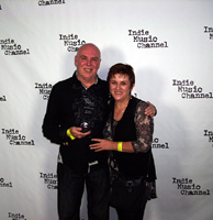 Stevie Hawkins and Charlotte Hannon win Indie Music Channel Blues Award
