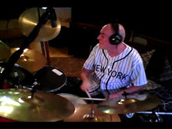Stevie Hawkins - Recording session