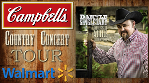 Daryle Singletary Campbell's Country Concert Tour