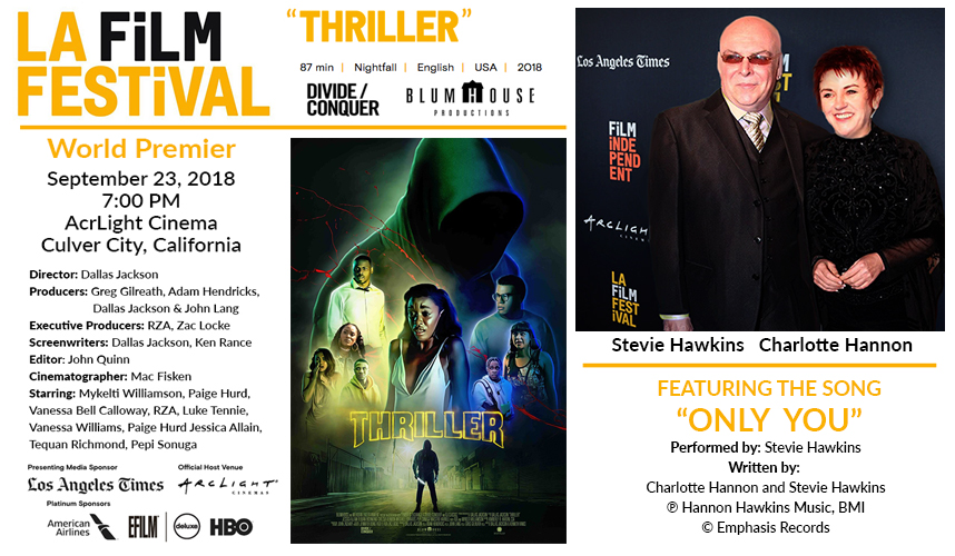 Thriller | Blumhouse and Divide/Conquer - Directed by Dallas